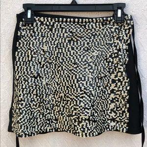 Bali Design Original Sequin Wrap-Around Skirt